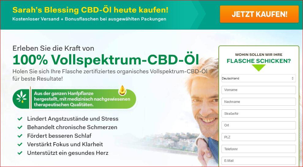 Sarah's Blessing CBD Oil - (Germany) Bewertungen, Preis & Kauf!