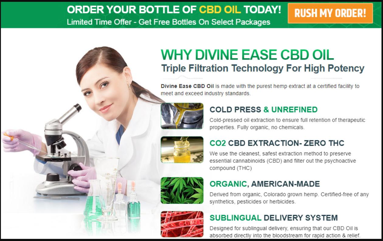 divine ease cbd oil