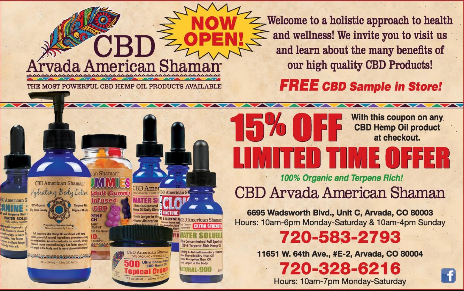cbd american shaman order