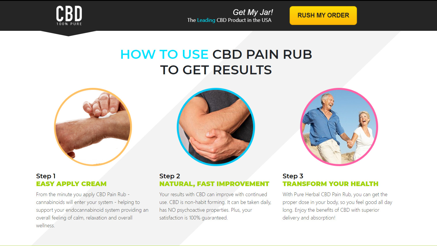 cbd pain rub use