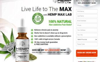 hemp max lab oil