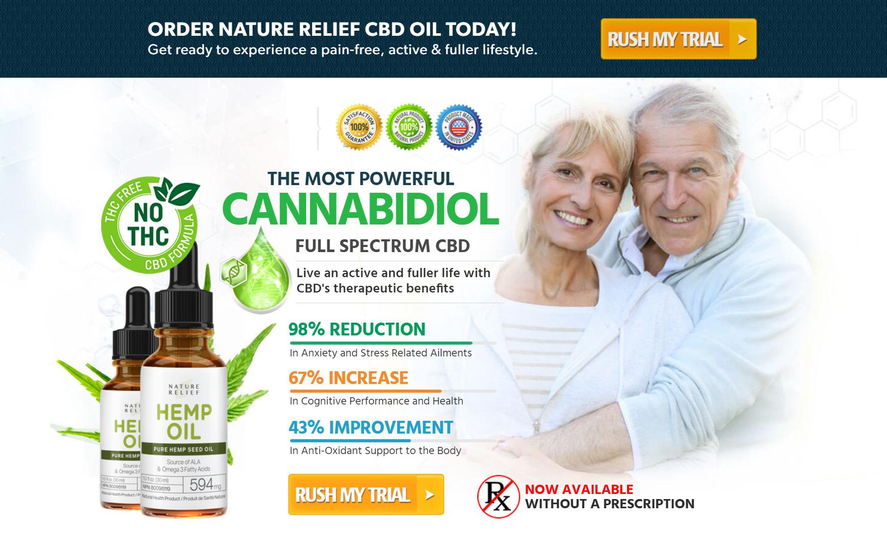 nature relief cbd oil buy