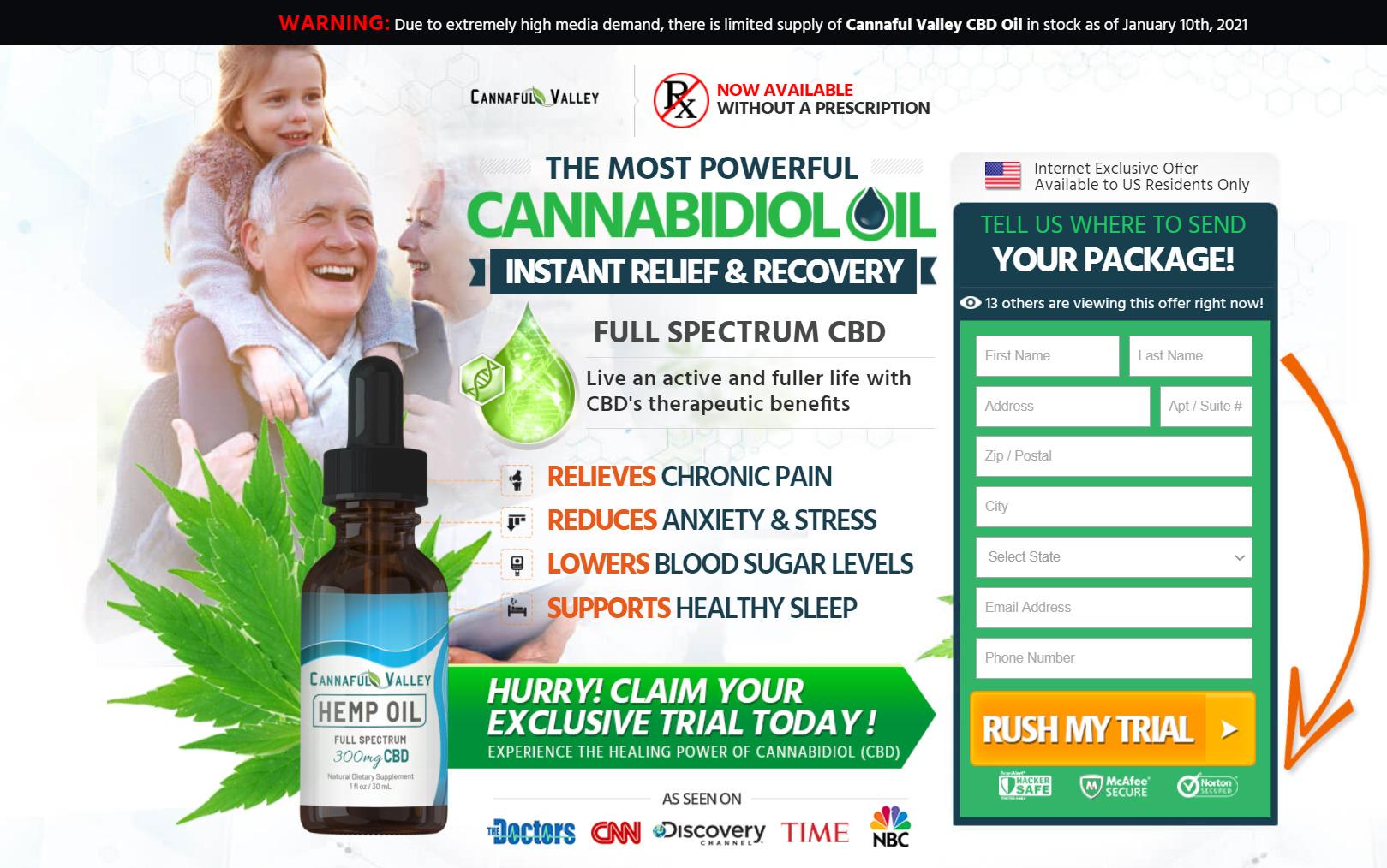 cannaful valley cbd oil