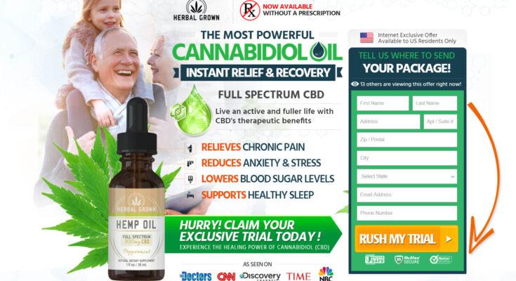 herbal grown cbd oil