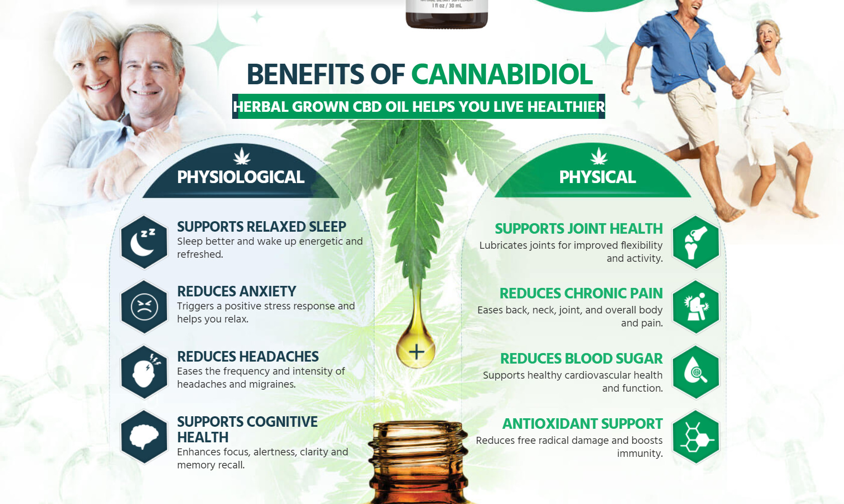 herbal grown cbd oil benefits