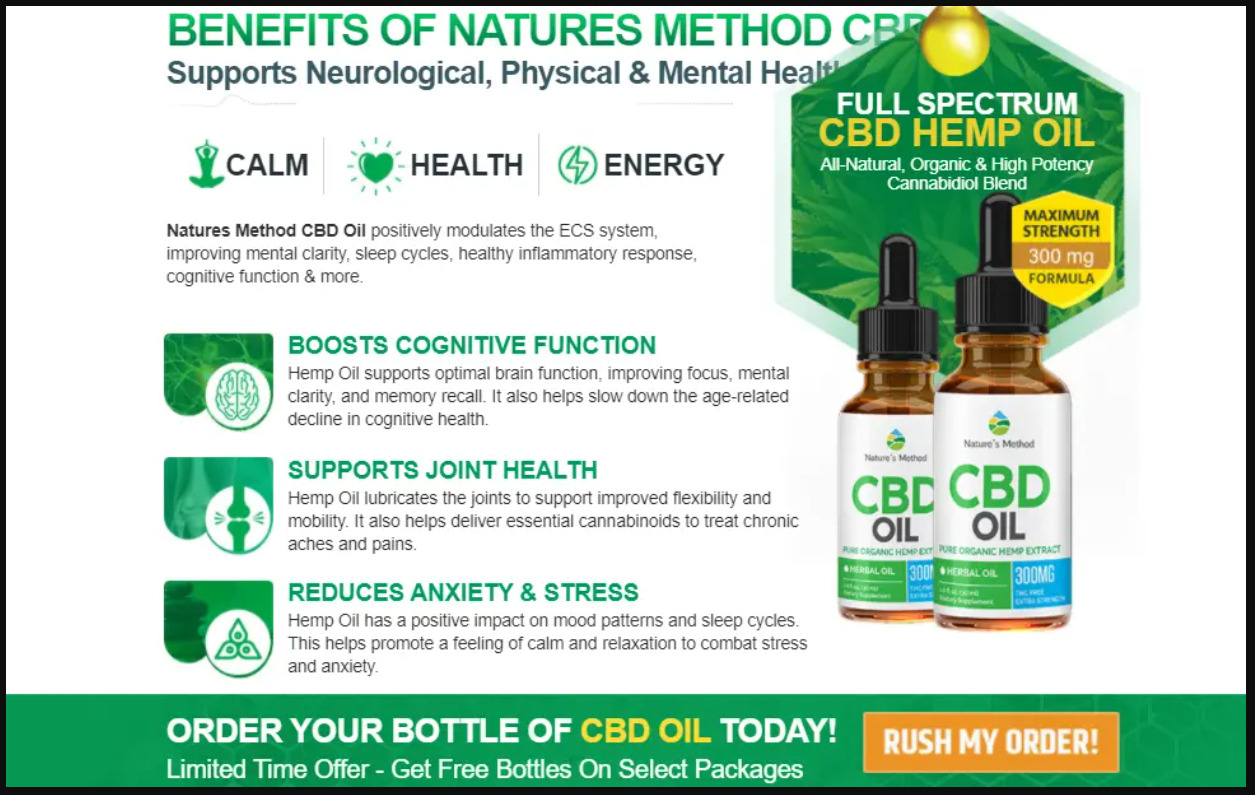 nature method cbd oil benefits