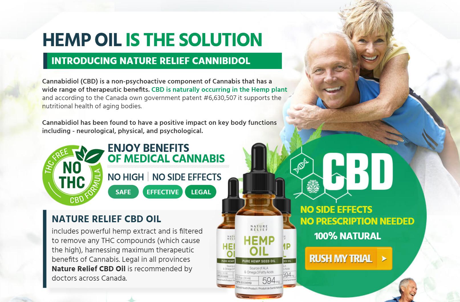 nature relief cbd oil Canada rev