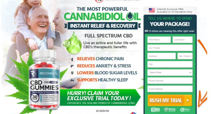 recover fx cbd gummies