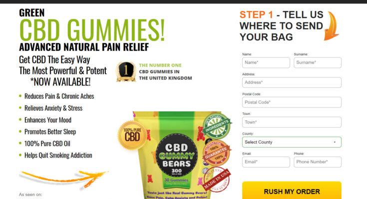 green cbd gummy bears