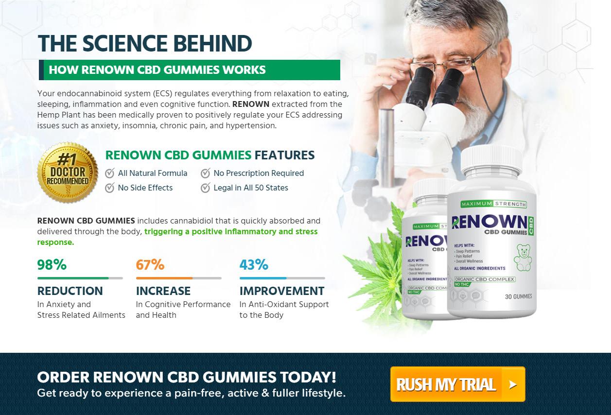 renown cbd gummies rev