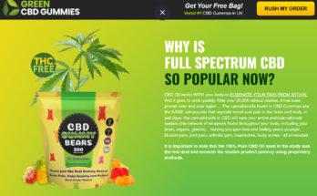 green Kratom cbd gummies rev